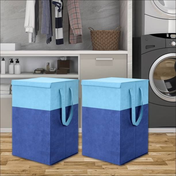 Flipkart SmartBuy 75 L Blue Laundry Basket