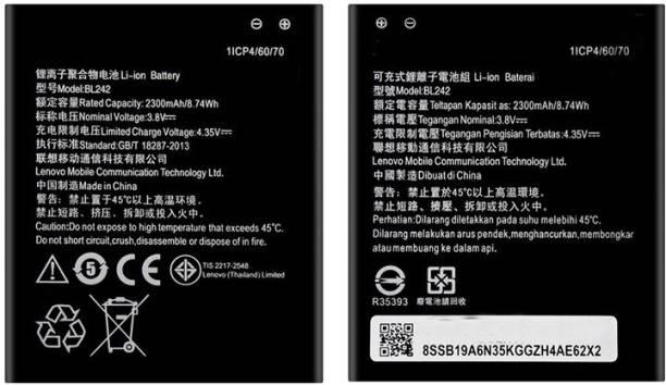 SAMSAM Mobile Battery For  Lenovo Lenovo K3 K30-W K30-T K30-E A6000 A3860 A3580 A3900 A6010 BL242