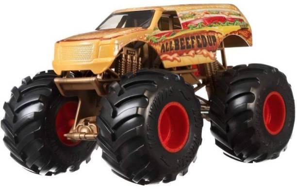HOT WHEELS Monster Truck 1.43 Rev Tredz All Beefed Up