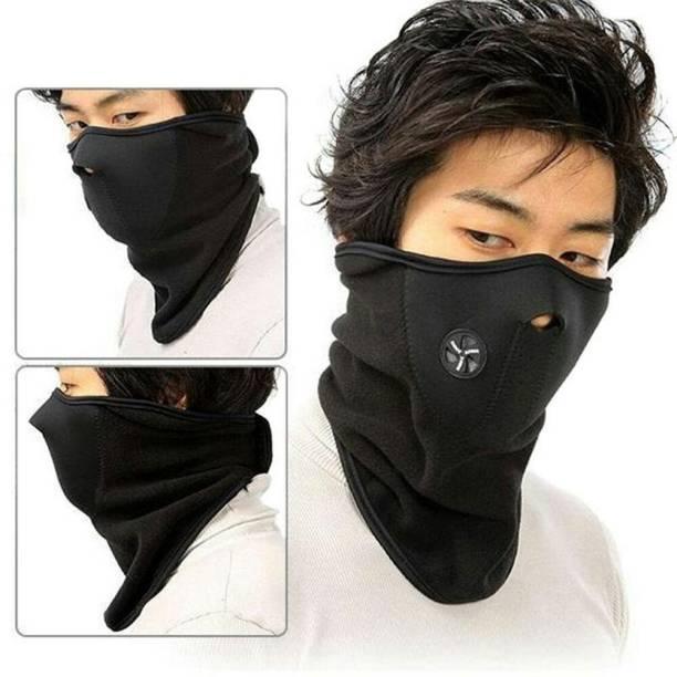 Bazaar Gali Black Bike Face Mask for Men & Women