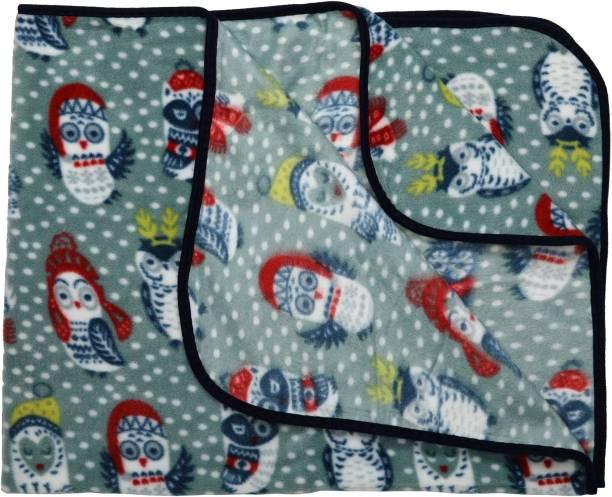 LuvLap Printed Crib AC Blanket