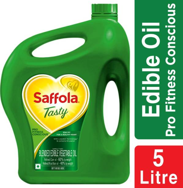 Saffola Tasty Pro Fitness Conscious Blended Oil Can