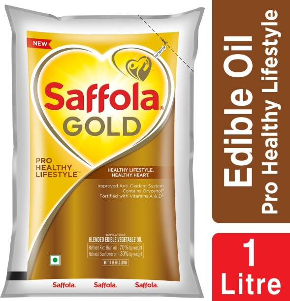 Saffola Gold Pro Healthy Lifestyle Blended Oil Pouch