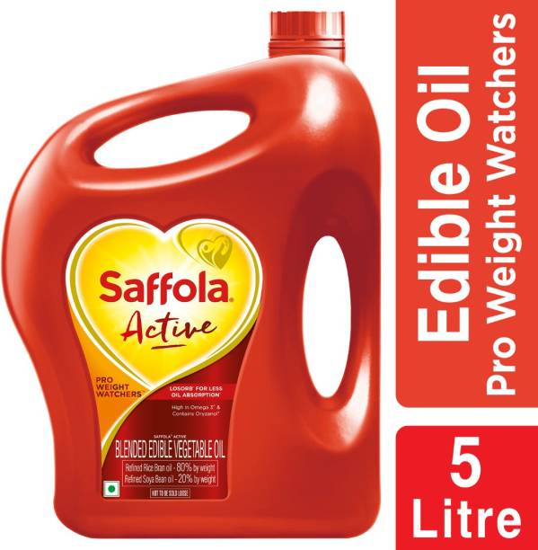Saffola Active Pro Weight Watchers Blended Oil Can
