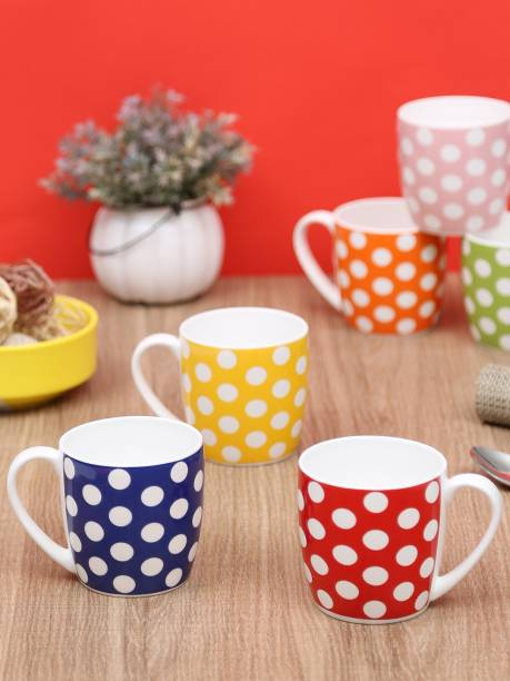 CLAY CRAFT CM-POLKADOT Ceramic Coffee Mug