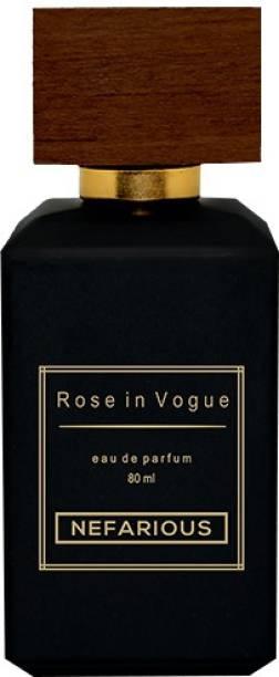 Nefarious Rose In Vogue Eau de Parfum  -  80 ml