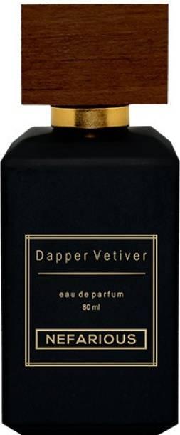 Nefarious Dapper Vetiver Perfumes for Men & Woman Eau de Parfum  -  80 ml