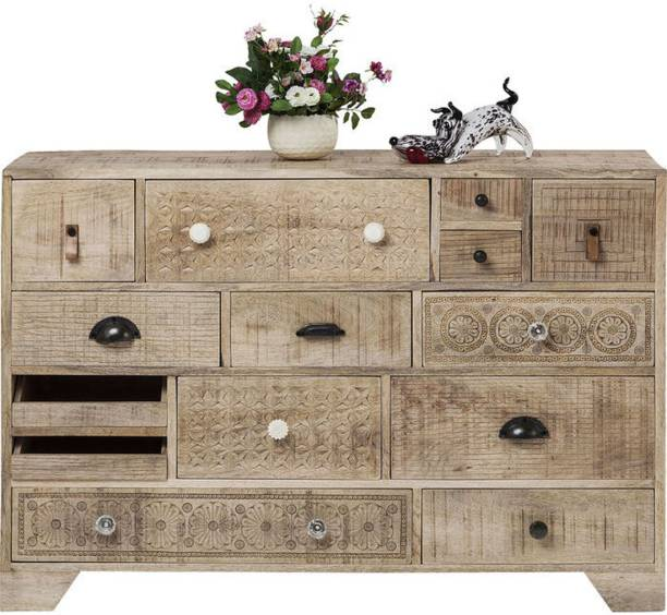 THE ATTIC Solid Wood Free Standing Chest of Drawers