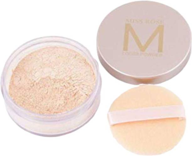 MISS ROSE Loose Powder Whitening Oil Control Face Makeup Shade-05 Compact