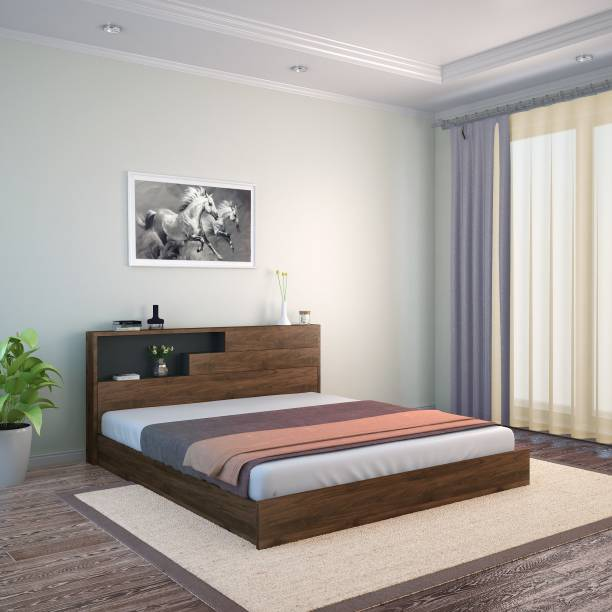 @Home by nilkamal Borden Engineered Wood King Bed