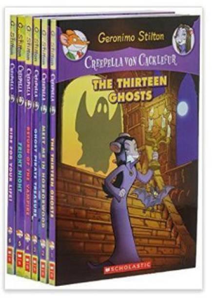 Creepella Von Cacklefur Set of 6 Books