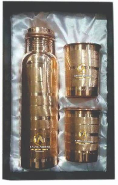 ADHYA COPPER GIFT PACK JOINTLESS 1000 ml Bottle