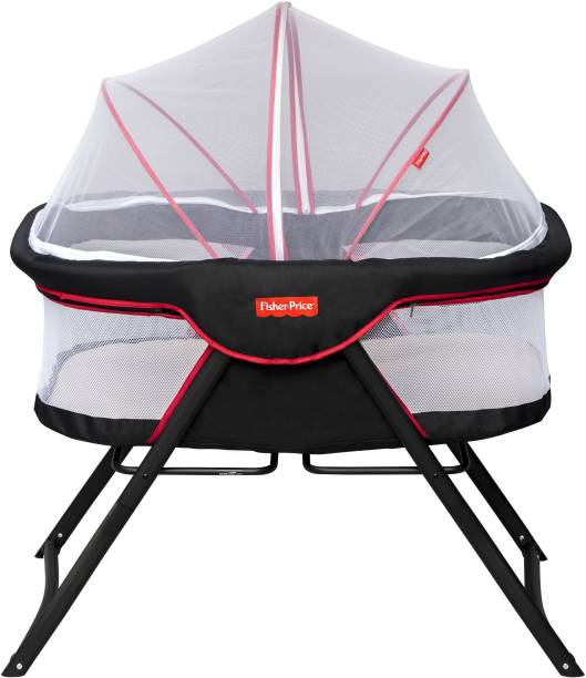 FISHER-PRICE Fisher Price - Shiled Baby Cot Cum Bassinet Bassinet