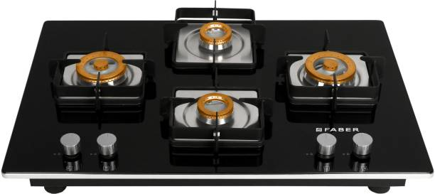 FABER Hobtop HTG 754 CRS BR CI Glass Automatic Hob