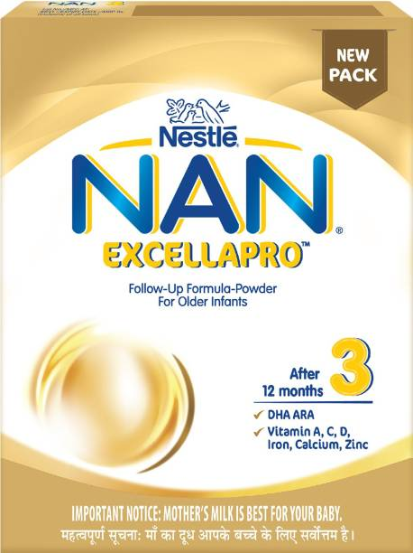 Nestle Nan Excella Pro Follow-up Formula-powder (Stage 3)