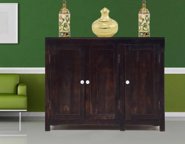 TimberTaste NORA-SB-DW Solid Wood Crockery Cabinet