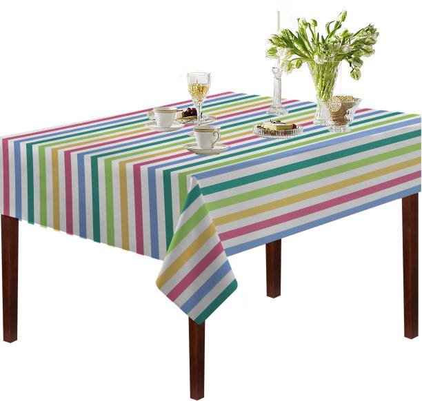 Oasis Striped 6 Seater Table Cover