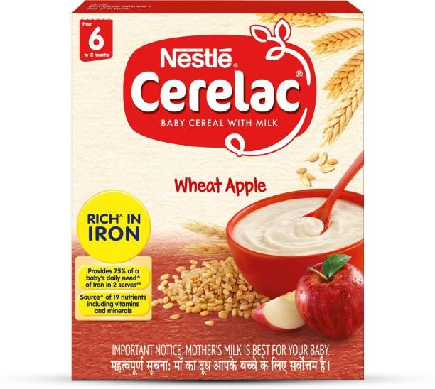 Nestle Cerelac Wheat Apple Cereal