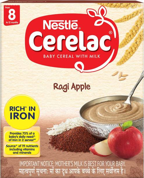 Nestle Cerelac Ragi Apple Cereal