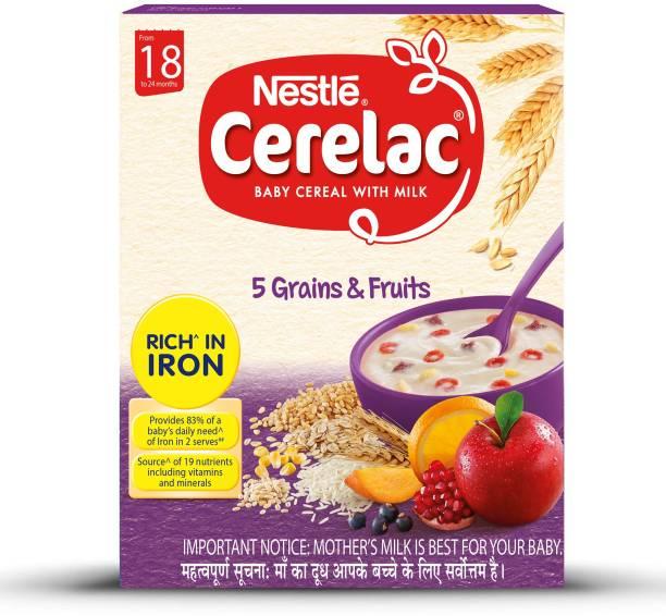 Nestle Cerelac 5 Grains & Fruits Cereal