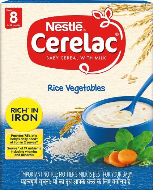 Nestle Cerelac Rice Vegetables Cereal