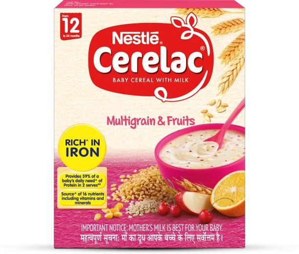 Nestle Cerelac Multigrain & Fruits Cereal