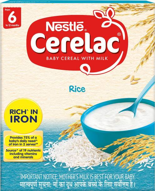 Nestle Cerelac Rice Cereal