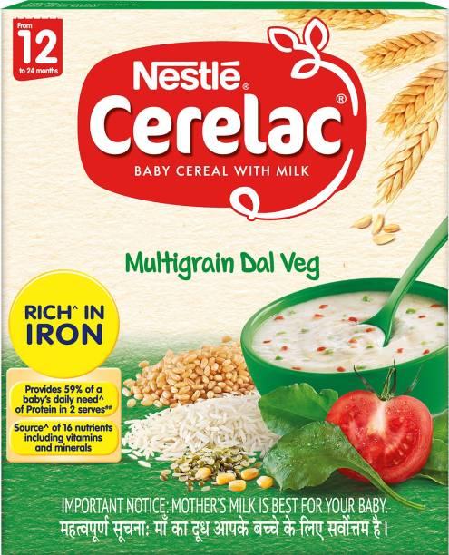 Nestle Cerelac Multi Grain Dal Veg Cereal