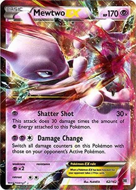 POKEMON Mewtwo-EX (62/162) - XY BREAKthrough - Holo