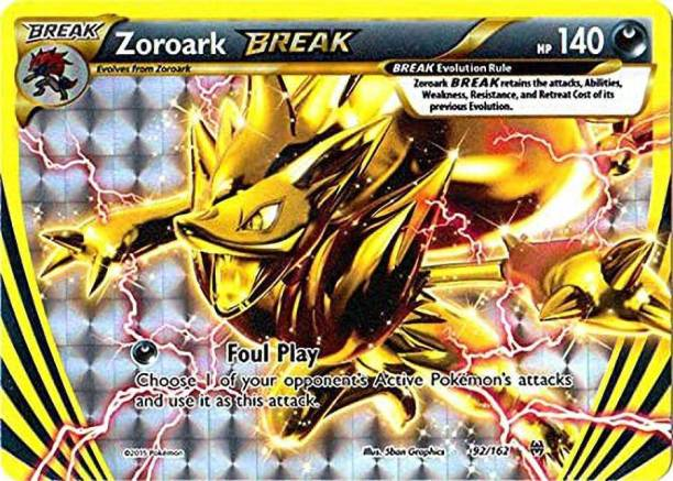 POKEMON Zoroark-BREAK (92/162)