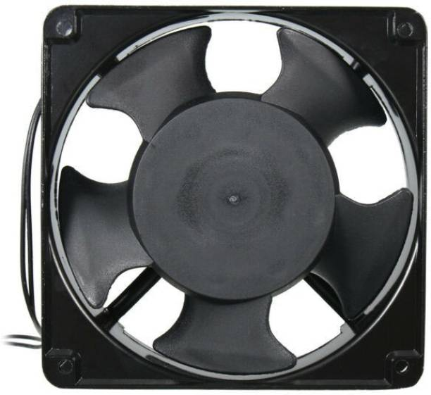DHRUV-PRO 220V AC 120*120*38mm 4-inch square Exhaust brushless Fan Metal Body Cooler