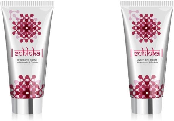 MODICARE SCHLOKA Under Eye Cream With Ashwagandha & Gotukola (2*20 Ml)