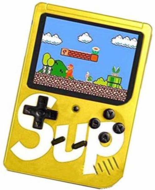 Mdpap SUP GAME 400 in 1 Retro Game Box Console Handheld Video Game box with TV output Mario 8 GB with Mario/Super Mario/DR Mario/Contra/Turtles and other 400 Games 2 GB with contra, mario, turtle with USB RECHARGER NA GB