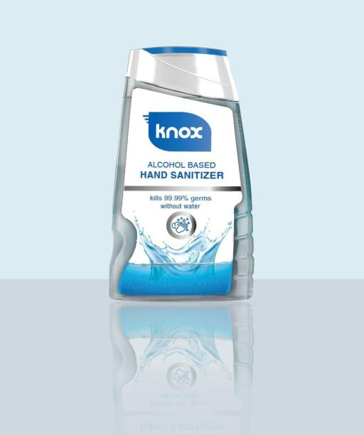 Knox Alcohol Based Hand Rub Hand Sanitizer Bottle