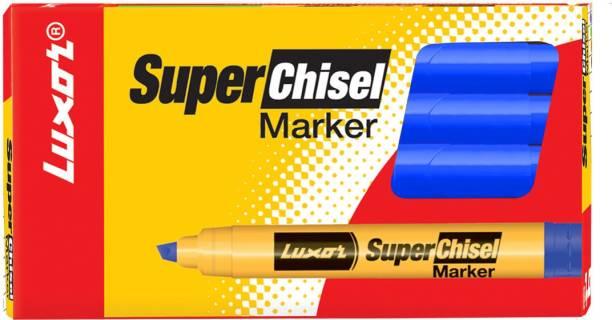 LUXOR 997 Super Chisel Marker - Blue