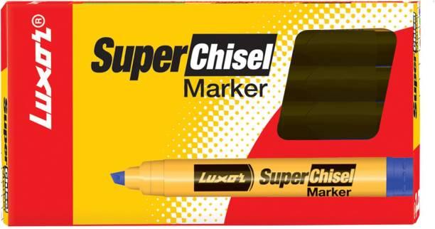 LUXOR 997 Super Chisel Marker - Black