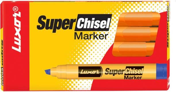 LUXOR 997 Super Chisel Marker - Orange