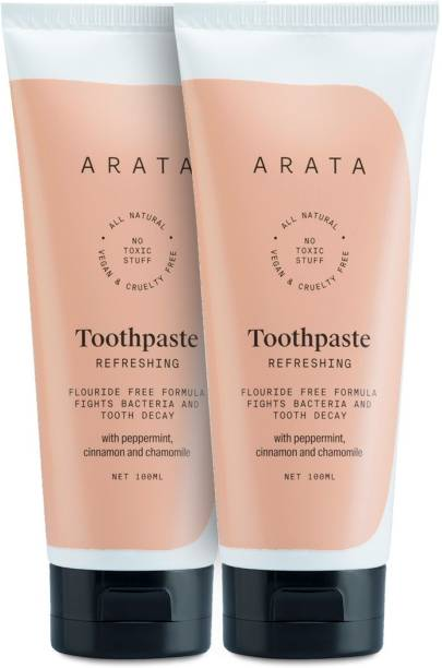 ARATA Toothpaste(Pack of 2) Toothpaste