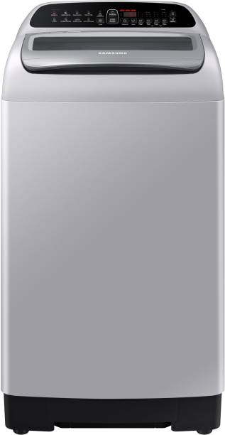 SAMSUNG 7 kg 5 Star Inverter Fully Automatic Top Load Silver