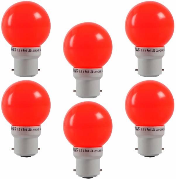 HAVELLS 0.5 W Round B22 LED Bulb