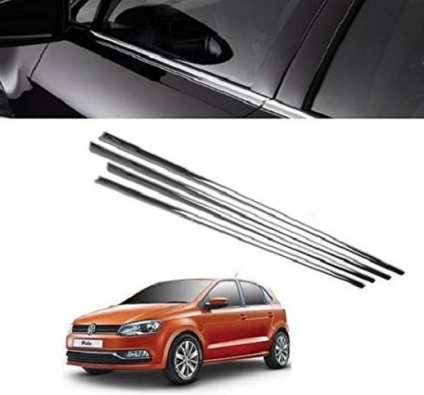 Worldlookenterprises CAR WINDOW LOWER GARNISH Chrome Volkswagen Polo Side Garnish