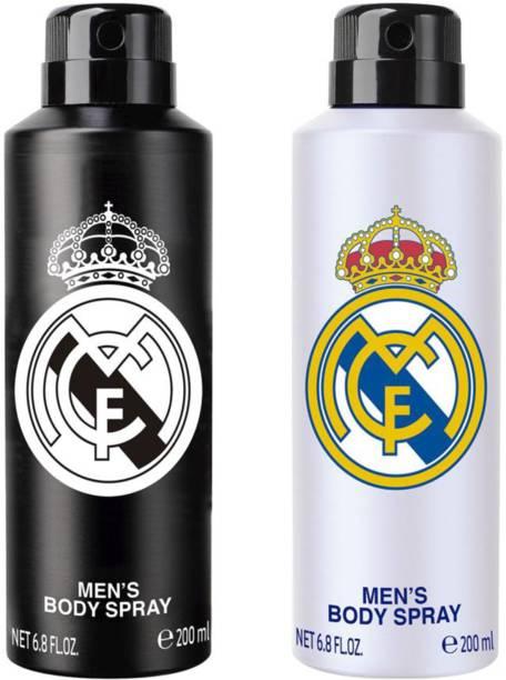 Real Madrid RM BW Body Spray  -  For Men
