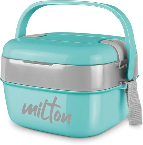 MILTON CUBIC GREEN 2 Containers Lunch Box