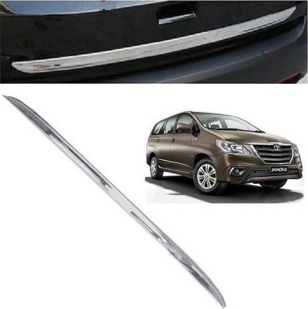 Worldlookenterprises CAR TRUNK GARNISH- INNOVA (ALL MODELS) Chrome Toyota Innova Rear Garnish