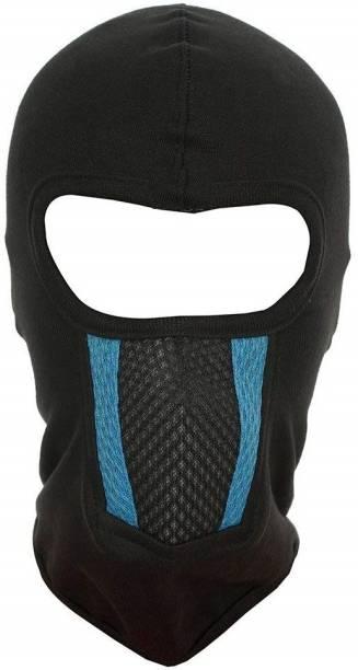 IM UNIQUE Black Helmet Skull Cap for Men & Women