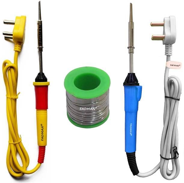 FADMAN 2 Pcs Soldering Iron   1 Pc Solder Wire   25 W Simple