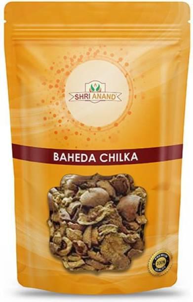 SHRI ANAND Baheda Chilka / Baheda, Belliric Myrobalan / Terminalia Belerica 400 Gram