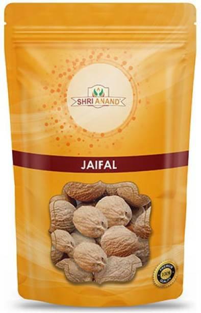 SHRI ANAND Jaiphal Asli   Jathikai - Myristica fragrans 400 Gram