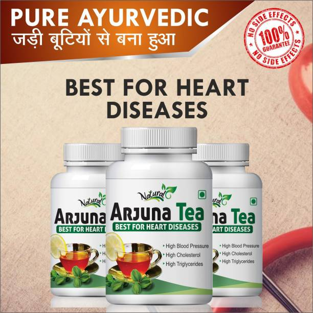 Natural Arjuna Tea Best Of Heart Diseases 100% Ayurvedic