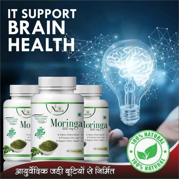 NATURAL Moringa herbal capsules for help in improve body immunity 100% Ayurvedic